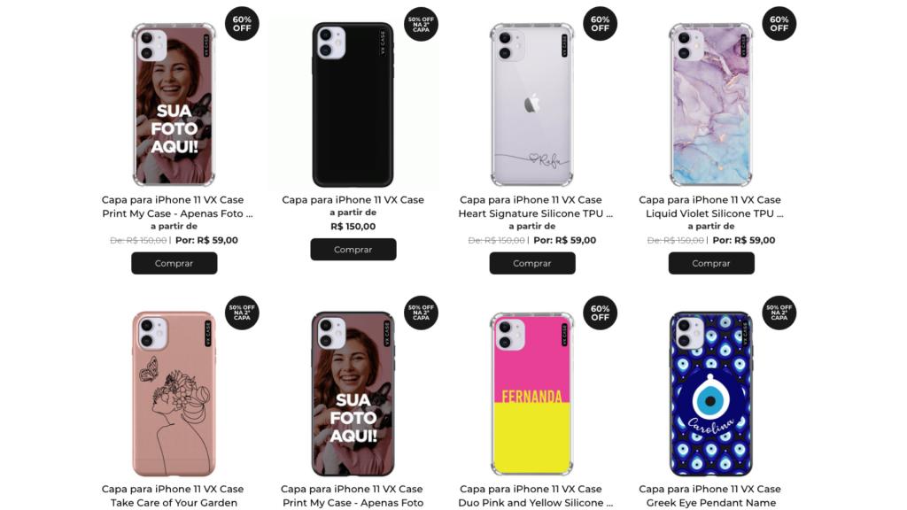 capinha iphone 11   vx cases   cases para iphone   case iphone 11   capinha iphone   capinhas de celular   acessórios para celular   acessórios eletrônicos