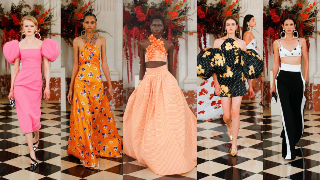 semanas de moda   semana de moda internacional   ny fashion week   new york fashion week   carolina herrera   semanas de moda internacionais   tendencias verão 2022   tendências 2022