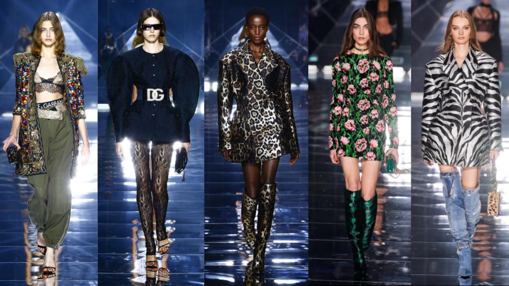 semanas de moda   semana de moda internacional   MFW   milan fashion week   dolce & gabbana   D&G   semanas de moda internacionais   tendencias verão 2022   tendências 2022