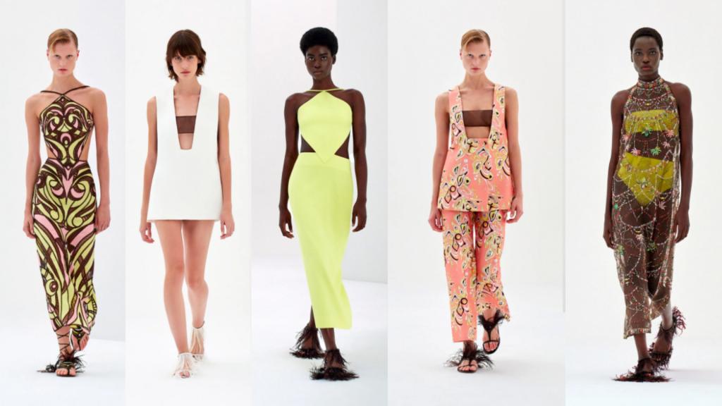 semanas de moda   semana de moda internacional   MFW   milan fashion week   emilio pucci   semanas de moda internacionais   tendencias verão 2022   tendências 2022