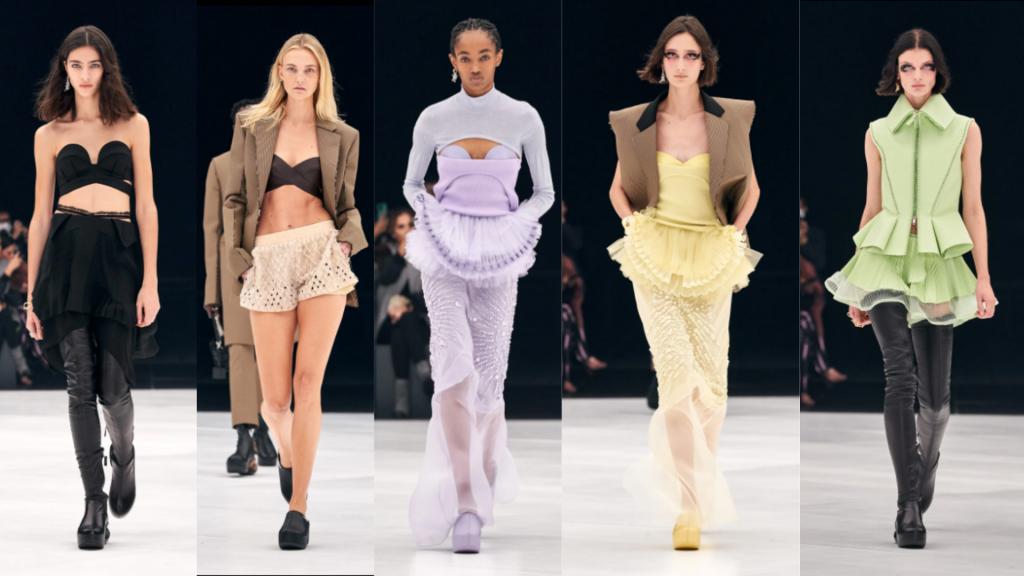 semanas de moda   semana de moda internacional   PFW   paris fashion week   givenchy   semanas de moda internacionais   tendencias verão 2022   tendências 2022