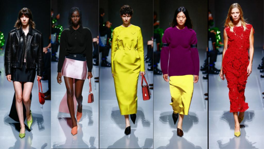 semanas de moda   semana de moda internacional   MFW   milan fashion week   prada   semanas de moda internacionais   tendencias verão 2022   tendências 2022