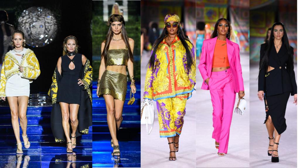 semanas de moda   semana de moda internacional   MFW   milan fashion week   versace by fendi   semanas de moda internacionais   tendencias verão 2022   tendências 2022